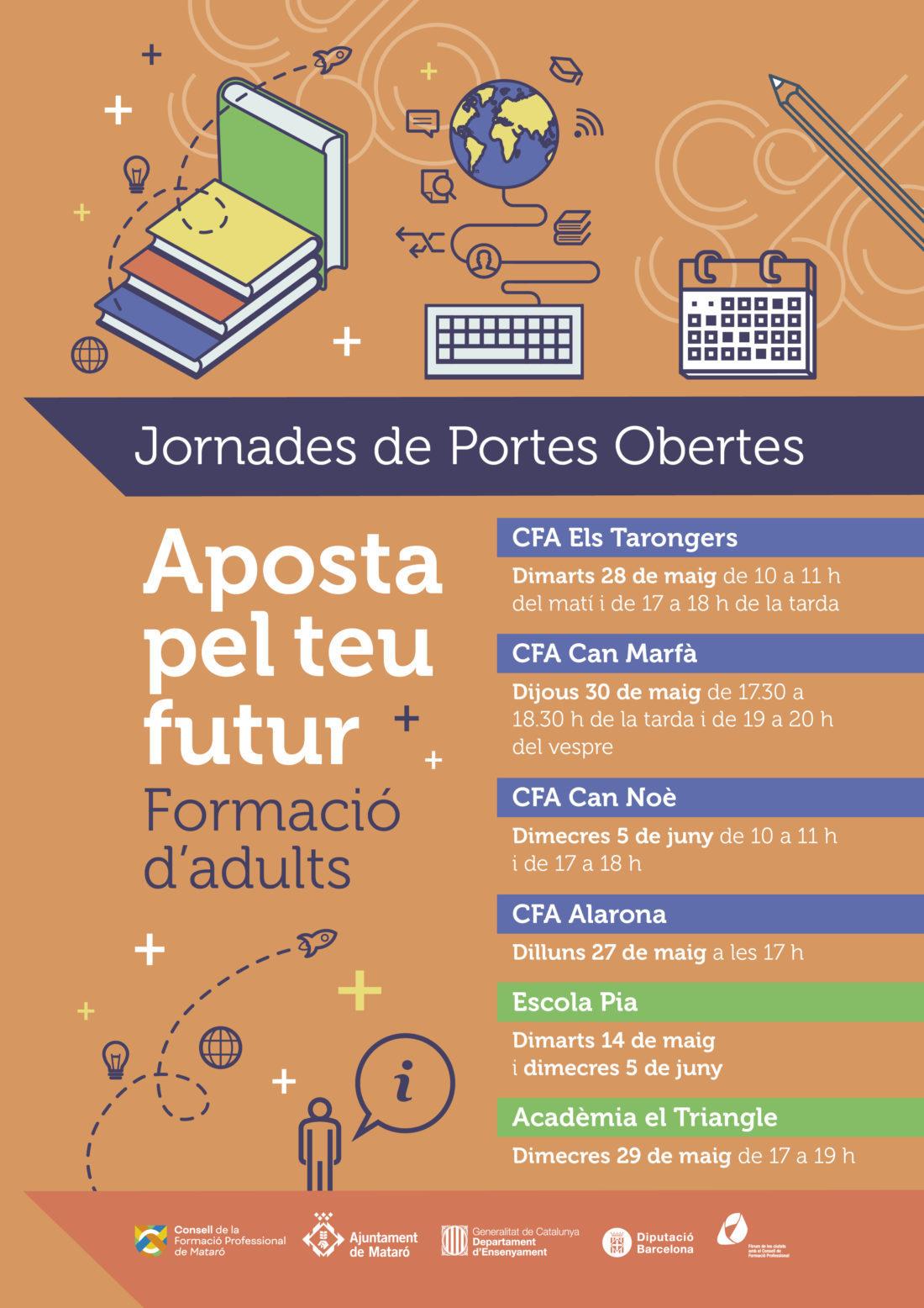 OBRIM LES INSCRIPCIONS PELS CURSOS DE FORMACIÓ I OPOSICIONS 2019-2020
